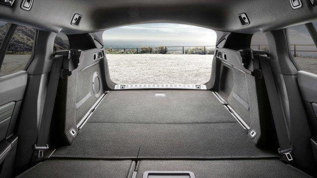 Peugeot 508 SW bagasjerom