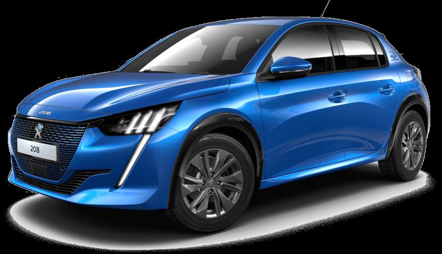 Peugeot e-208 elektrisk bil