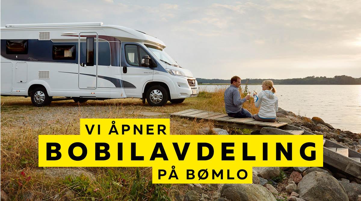 Vi åpner Bobilavdeling på Bømlo